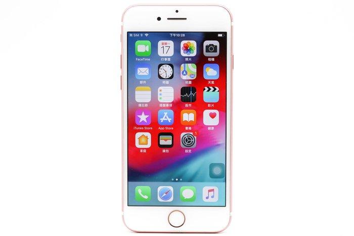 【高雄青蘋果3C】APPLE IPHONE 7 128G 128GB 4.7吋 玫瑰金 IOS 12.2 #39096