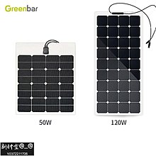 草莓之戀*° SUNPOWER柔性太陽能板100W ETFE層壓太陽能電池板組件SOLAR CELLLYU892