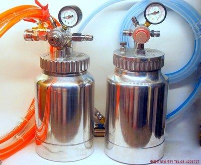 【中壢美華油漆行】請先來電詢問庫存 台灣製 專業級 2公升壓力桶 可樂桶 送料桶 2L 通用噴漆 裝潢用 小型送料桶