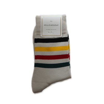Hello Monday Men/Women Japan Style Sock 男女裝日系襪子#5