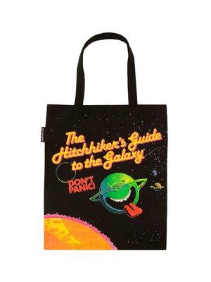 莉迪卡娜~美國Out of Print 文學帆布包 銀河系漫游指南 文藝科幻單肩包袋