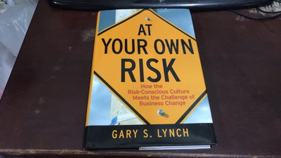 F4-8《好書321KB》At Your Own Risk Lynch, Gary S. 9780470259412