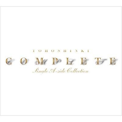 台壓全新未拆 ---  東方神起 COMPLETE -SINGLE A-SIDE COLLECTION- ( 3CD )