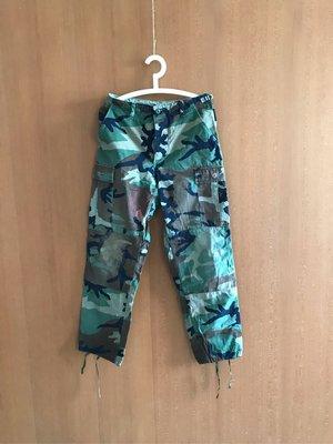 美軍公發二手品 迷彩服 S號 迷彩褲 戰術軍褲 叢林野戰 Small Regular US ARMY (BD279)