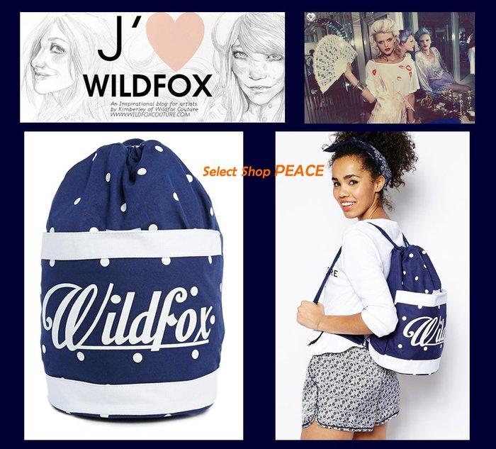 Wildfox Couture 美國【現貨↘打6.5折】後背包 Drawstring Backpack