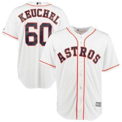 Dallas Keuchel Majestic White Home Cool Base Player Jersey