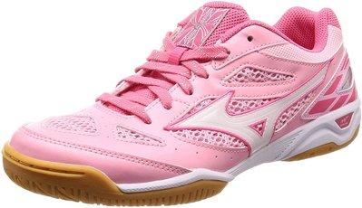 日本版正貨 Mizuno 粉紅色乒乓球鞋