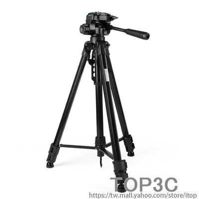 YEAHSHOP 單反相機三腳架攝影攝像便攜微單三角架手機旅行自拍主播直播支架448181Y185