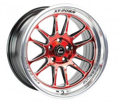 =1號倉庫= Cosmis Racing XT-206R 鋁圈 鋼圈 15吋 17吋 8J 9J