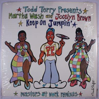 《二手美版單曲黑膠》Martha Wash / Jocelyn Brown – Keep On Jumpin'