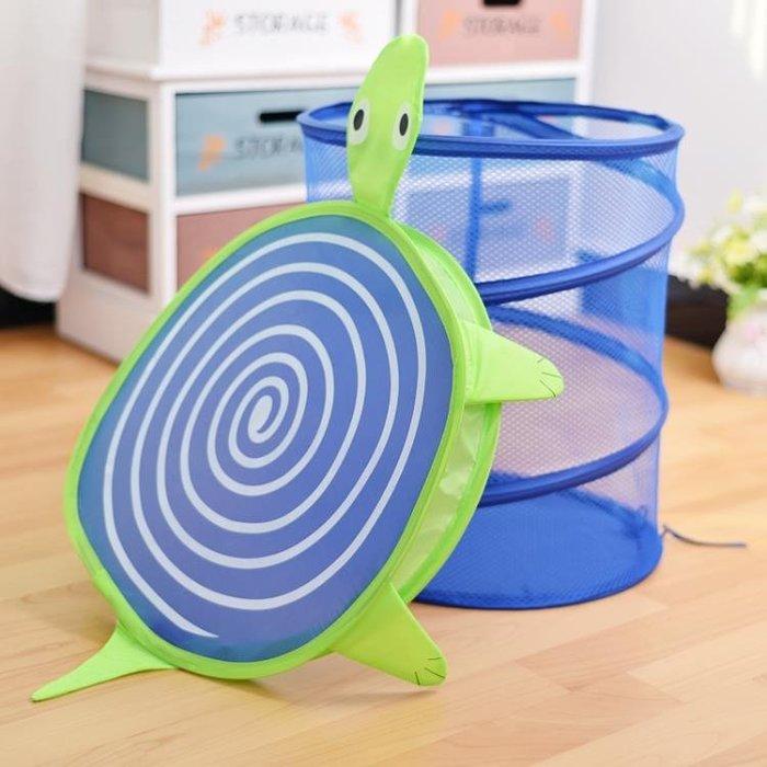 卡通臟衣籃可摺疊臟衣服收納筐兒童玩具收納籃大號洗衣籃 FA
