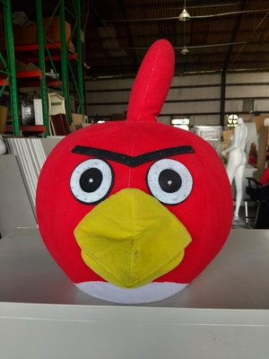 桃園國際二手貨中心---憤怒鳥造型頭套 活動 派對 動物造型頭套  萬聖節聖誕節 動物頭套