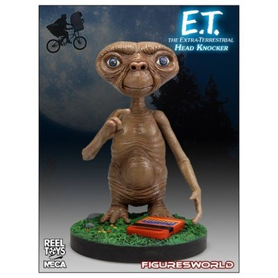 金錢貓雜貨 全新 NECA The Extra Terrestrial 外星人 ET 搖頭公仔