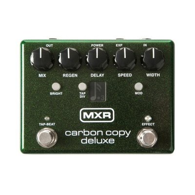 Dunlop M292 類比延遲效果器 【Carbon Copy Deluxe Analog Delay Pedal】
