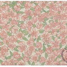 ✿小布物曲✿ 百分百純棉二重紗花系列 印花布 窄幅110CM 韓國進口質感優 2色 單價 口罩