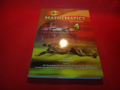 【愛悅二手書坊 11-13】 Mathematics, Level 4  New Syllabus Student