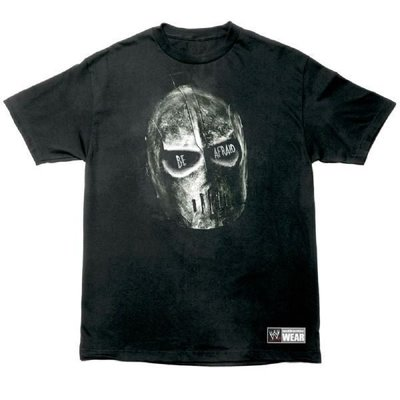 ☆阿Su倉庫☆WWE摔角 Kane Be Afraid T-Shirt KANE擁抱邪惡絕版款 熱賣特價中
