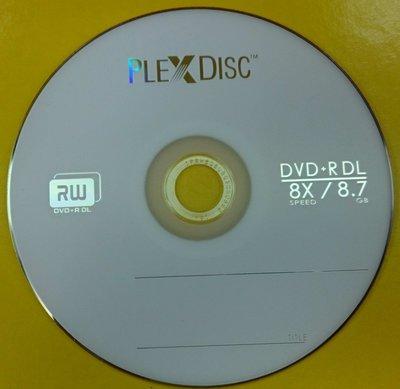 @阿媽的店@ Plexdisc DVD+R 8.5G(8.7G) DL 8X 50片布丁桶裝750免運 360超燒好用