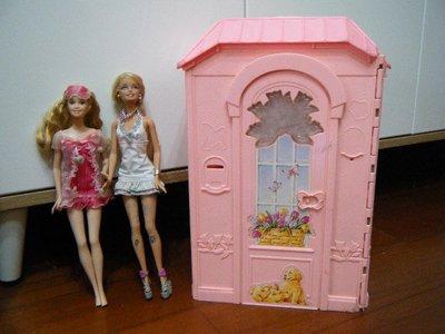 芭比娃娃玩具屋 + 芭比娃娃