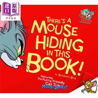 貓和老鼠:3 Theres a Mouse Hiding In This Book!  繪本圖畫書 幽默搞笑 3~6歲