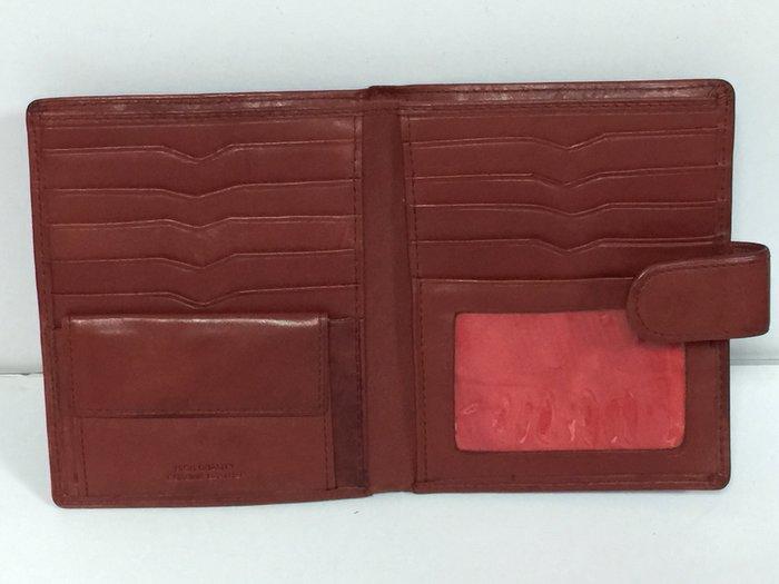 High Quality Genuine Leather 短夾 皮夾 (褐色)