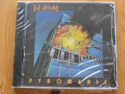 正版CD《威 豹合唱團》縱火狂 / Def Leppard Pyromania 全新未拆