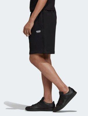 ADIDAS ORIGINALS R.Y.V. 黑色 休閒 棉質 棉褲 短褲 愛迪達 ED7233 請先詢問庫存