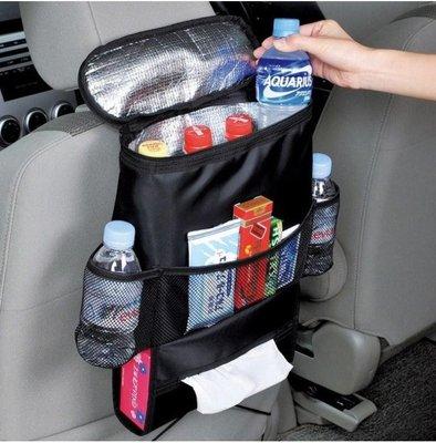 汽車椅背置物袋 車載多功能雜物儲物收納袋   全館免運