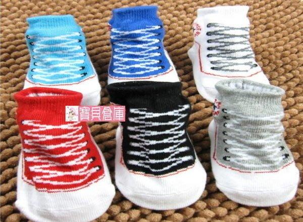 寶貝倉庫~運動鞋造型襪~男女寶寶立體襪~新生兒童假鞋襪~兒童鞋襪~地板襪~7色可選