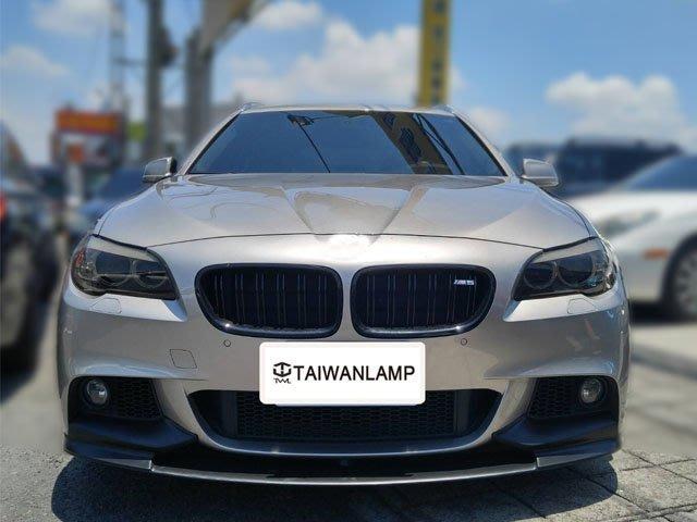節慶促銷《※台灣之光※》全新BMW F10 F11 M-TECH MTK前保桿專用P樣式前下巴定風翼520 528