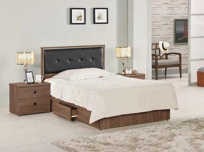 ☆[新荷手作] 20C138 ☆床片型3.5尺雙人抽屜床組(2件組-可拆買) 床架