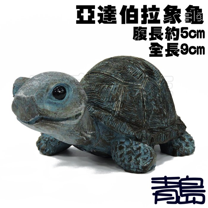 YU。。。青島水族。。。TQ-07手工原創 仿真陸龜模型 3D擬真模型 陸龜公仔 烏龜象龜==Q版/亞達伯拉象龜