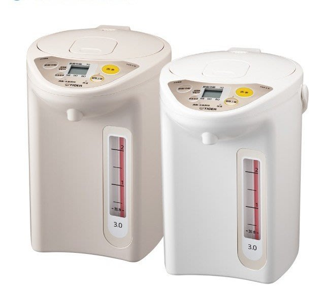 TIGER虎牌 3.0L微電腦電熱水瓶(PDR-S30R)
