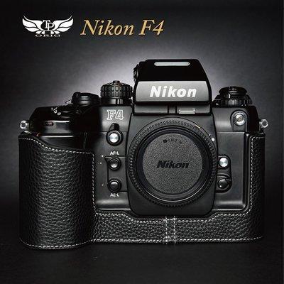 【台灣TP】適用於 Nikon F4  真皮底座  牛皮 相機包 皮套