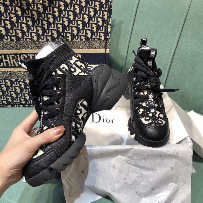 D迪家 女士彈力飛織襪子鞋 襪套運動鞋休閒鞋 老爹鞋 小白鞋 34-41碼~妖精館
