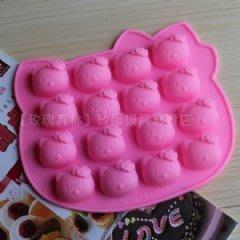 【乖乖媽手作】皂模。手工皂。冰塊模。巧克力模。16孔KITTY貓模A