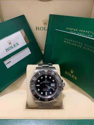 Rolex 勞力士 Sea-Dweller 126600 43mm 紅字海使 MK2