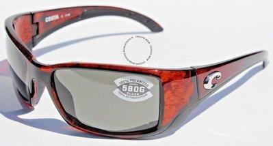 COSTA DEL MAR Blackfin 580 POLARIZED太陽眼鏡烏龜/灰色580G新