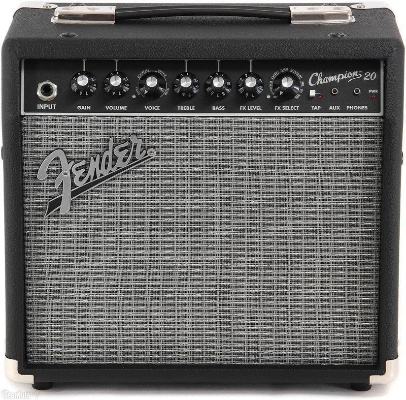 絕地音樂樂器中心 Fender Champion 20瓦 電吉他 音箱