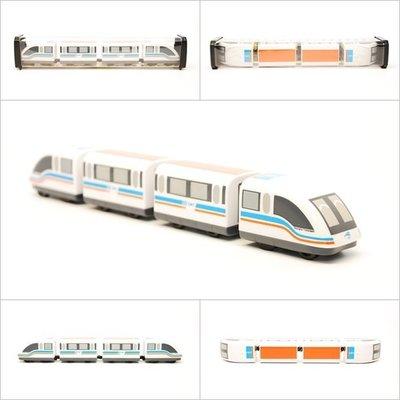 【喵喵模型坊】TOUCH RAIL 鐵支路 Q版 上海懸磁浮小列車  ( QV021T1)