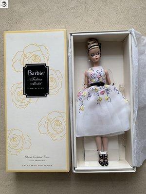 九州動漫芭比 silkstone Classic Cocktail Dress 金標雞尾酒禮服裙  現貨