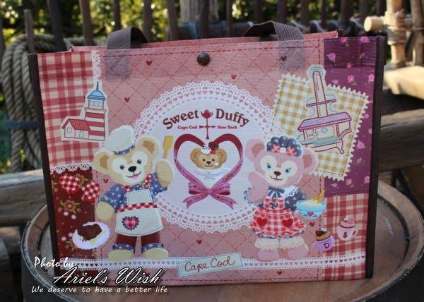 Ariel's Wish-東京迪士尼Duffy Shelliemay情人節防潑水購物袋環保袋提袋-絕版品,最後一個