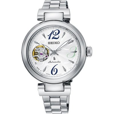 可議價.「1958 鐘錶城」SEIKO精工錶 時尚機械 女錶(SSA807J1)-33.9mm