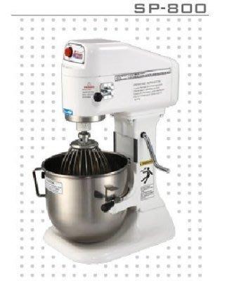 【發發發小舖】(現購)買就送鋁合金手轉盤1個/ 士邦八公升桌上型專業級攪拌機 SP-800(1桶3配件) 台中市