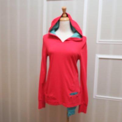 *beauty*a la sha橘紅連帽T恤   E號 600 元