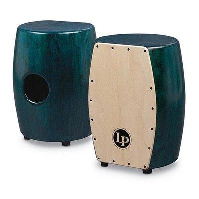 [魔力˙高雄] 美國LP木箱鼓 橡木酒桶造型 小鼓響線 matador stave cajon 綠色款 贈木箱鼓袋