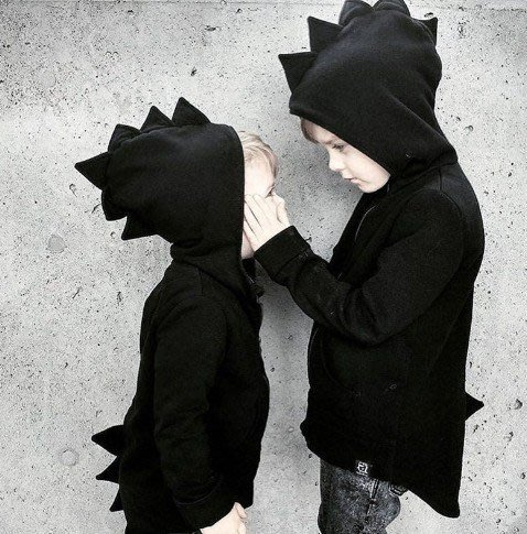 ins同款兒童新款外套 恐龍連帽外套 超萌兒童造型外套 男女適合 可愛外套 兒童外套 #adidas 禮物尾牙交換禮物
