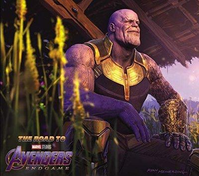 毛毛小舖--復仇者聯盟4:終局之戰 電影美術設定集 精裝版 The Road to Marvel's Avengers