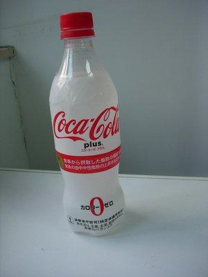 Coca Cola plus COKE 日本可口可樂470ml 膠樽