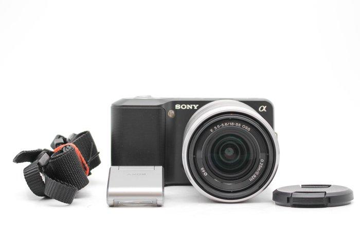 【高雄青蘋果3C】SONY NEX 3 NEX3 黑 +18-55mm 單鏡組 二手單眼相機#47953